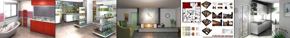 forthcad 3d logiciel de design agencement et fabrication. Black Bedroom Furniture Sets. Home Design Ideas